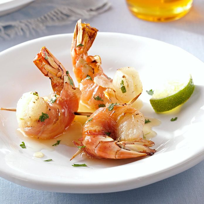 Pancetta Wrapped Shrimp With Honey Lime Glaze Exps155668 Hc2847498a09 24 3bc Rms 2