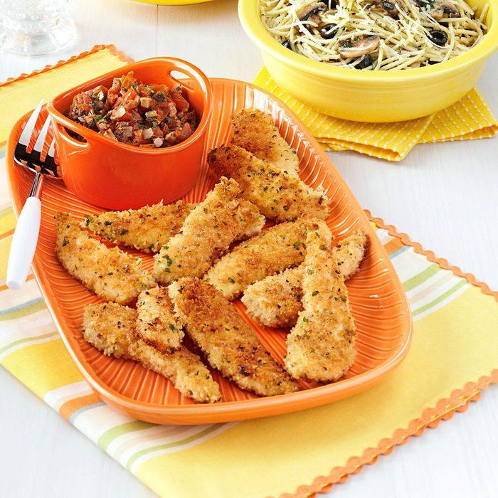 Panko Chicken with Fresh Marinara