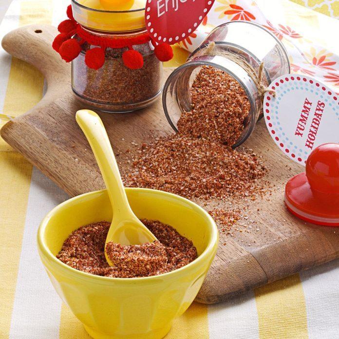 Paprika Dry Rub