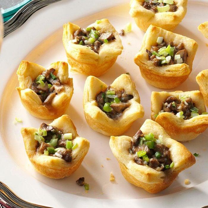 Parmesan Mushroom Tartlets