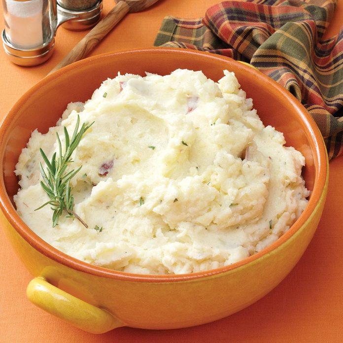 Parmesan-Rosemary Mashed Potatoes