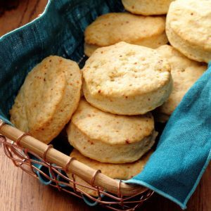 Parmesan Sweet Cream Biscuits