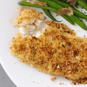 Parsley-Crusted Cod
