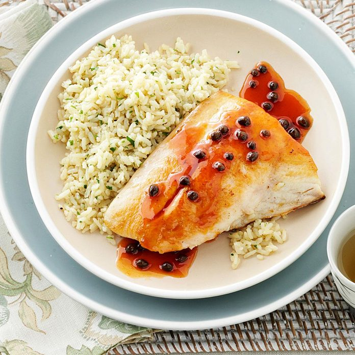 Parsleyed Rice Pilaf