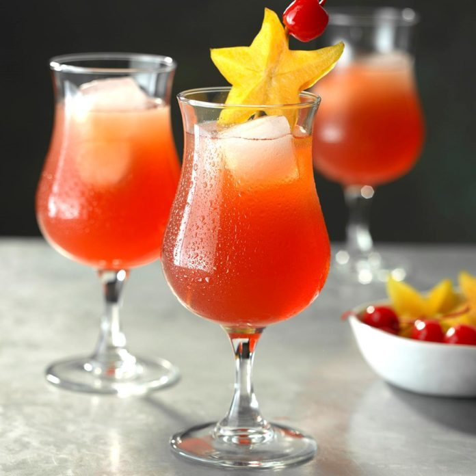 Passion Fruit Hurricanes