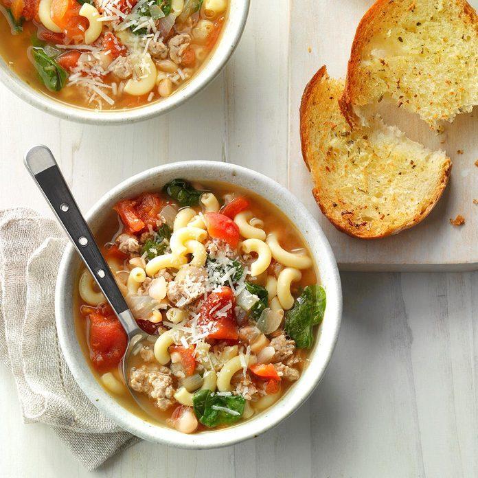 Day 27: Pasta Fagioli Soup