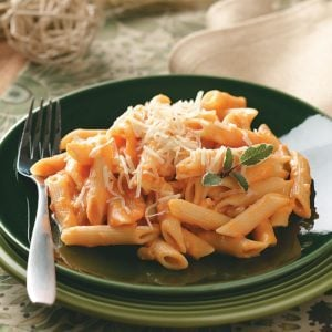 Pasta with Creamy Sweet Potato Sauce