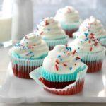 Patriotic Ice Cream Cupcakes