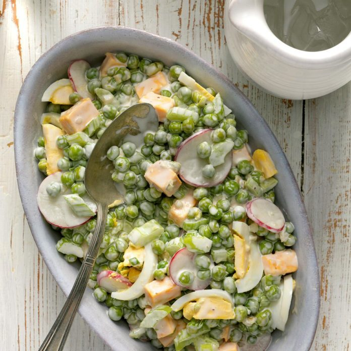 Pea 'n' Cheese Salad