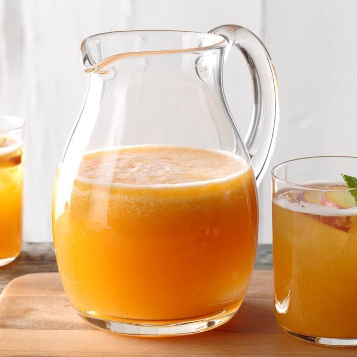 Peachy Keen Wine Cocktail