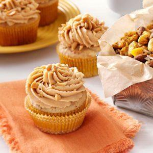 Peanut & Banana Cupcakes