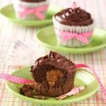 Peanut Butter Chocolate Cupcakes