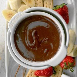 Peanut Butter Chocolate Fondue