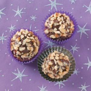 Peanut Butter Coconut Balls
