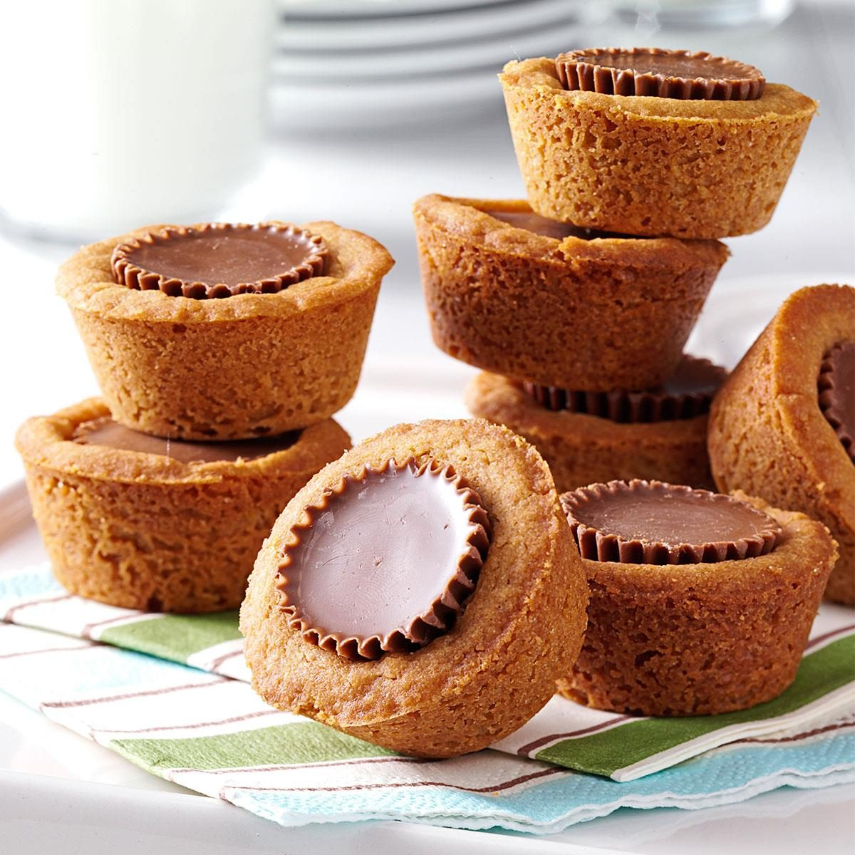 Peanut Butter Cookie Cups Recipe How To Make It Taste Of Home