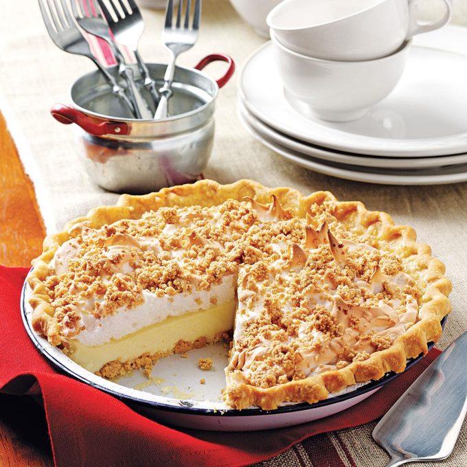 Peanut Butter Meringue Pie