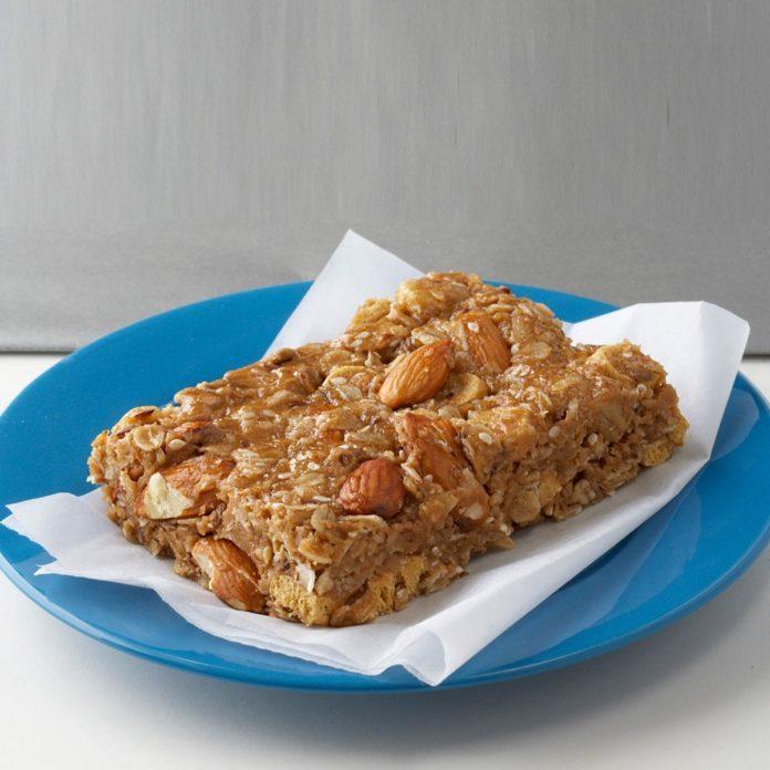 Peanut Butter Snack Bars