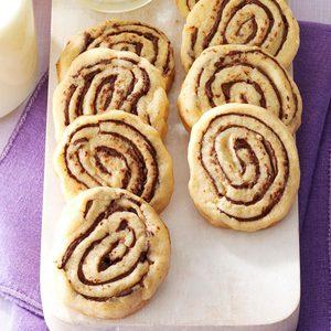 Peanut Chocolate Whirls