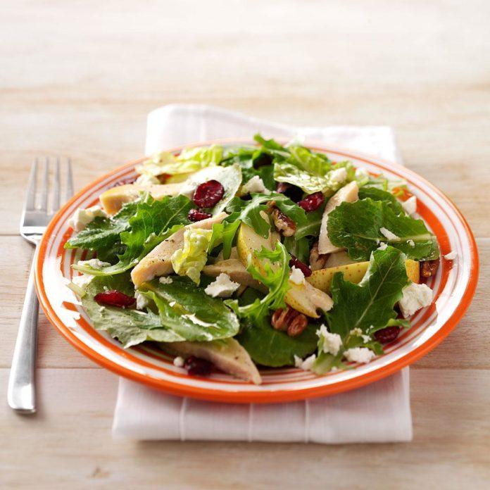 Pear Chicken Salad