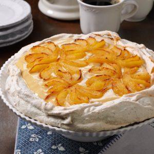 Pear & Maple Cream Pavlova