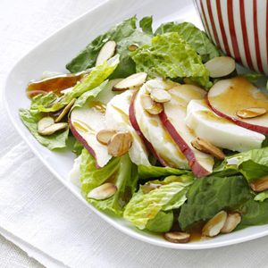 Pear Salad with Sesame Vinaigrette