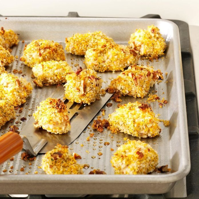 Pecan-Crusted Chicken Nuggets