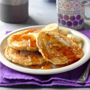Pecan-Oatmeal Pancakes