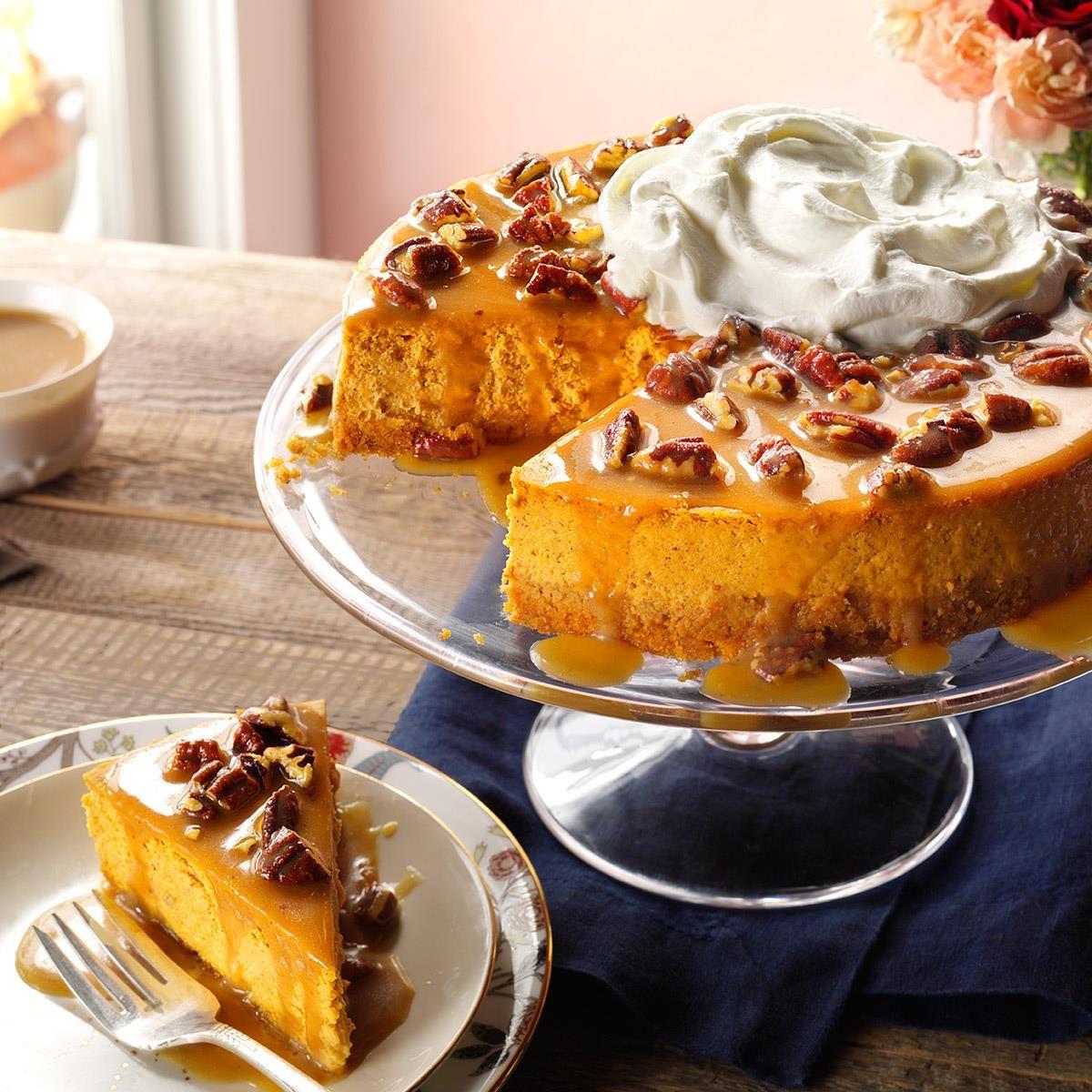 Pecan Pumpkin Cheesecake