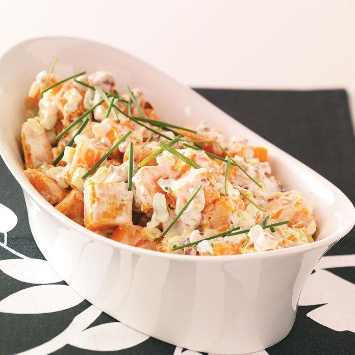 Pecan Sweet Potato Salad