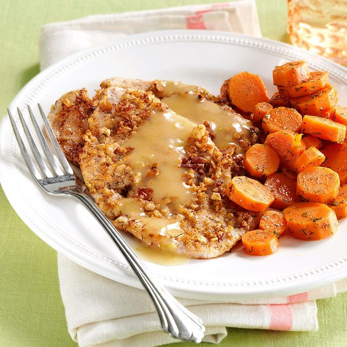 Pecan Turkey Cutlets With Dilled Carrots Exps164893 Sd2856494d12 04 4bc Rms 2
