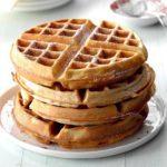 Pecan Wheat Waffles