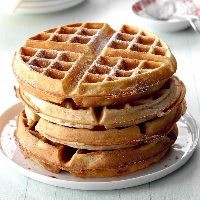 Waffle Maker: Pecan Wheat Waffles