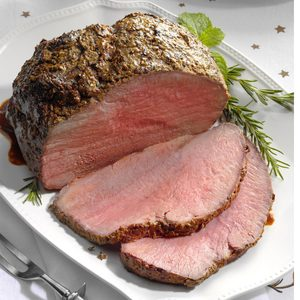 Pepper-Crusted Sirloin Roast