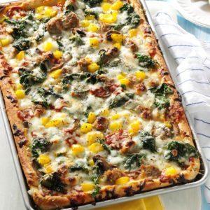 Pepper Sausage Pizza
