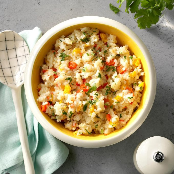 Peppered Cilantro Rice