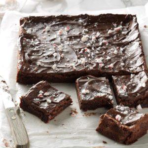 Peppermint Brownies