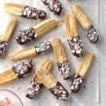 Peppermint Puff Pastry Sticks