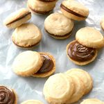 Peppermint Sandwich Cookies