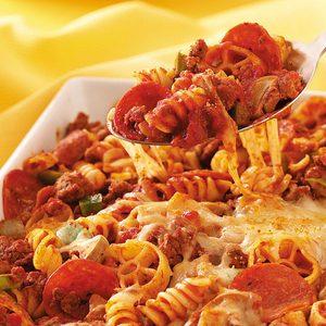 Pepperoni Pasta