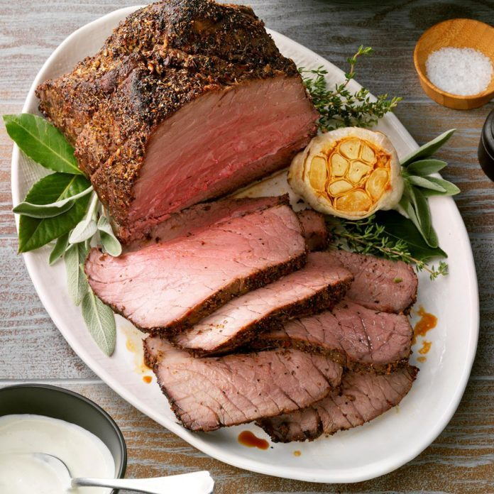 Peppery Roast Beef