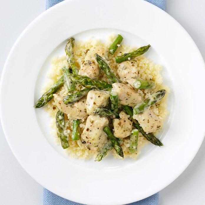 Pesto Chicken & Asparagus