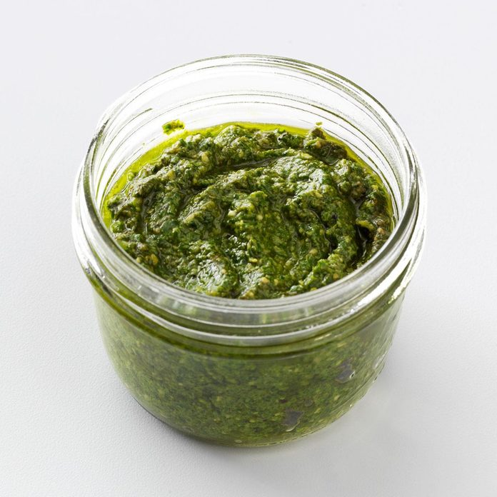 Pesto Sauce Recipe How To Make It Taste Of Home