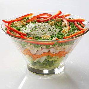 Pesto Tortellini Chicken Salad