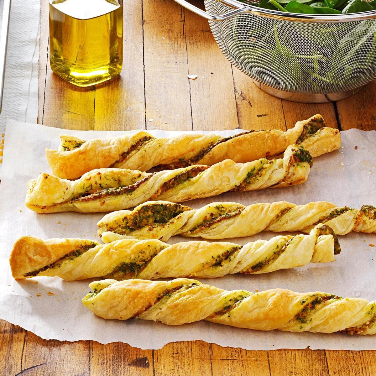 Pesto Twists