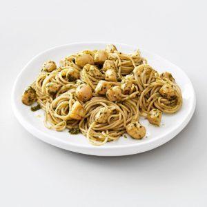 Pesto Vermicelli with Scallops