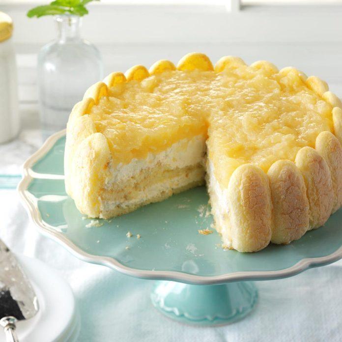 Pineapple Breeze Torte