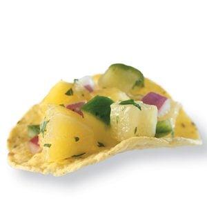 Pineapple Cucumber Salsa