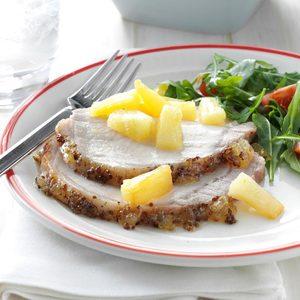Pineapple-Glazed Pork Roast