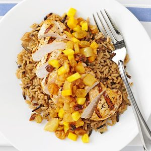 Pineapple-Mango Chicken