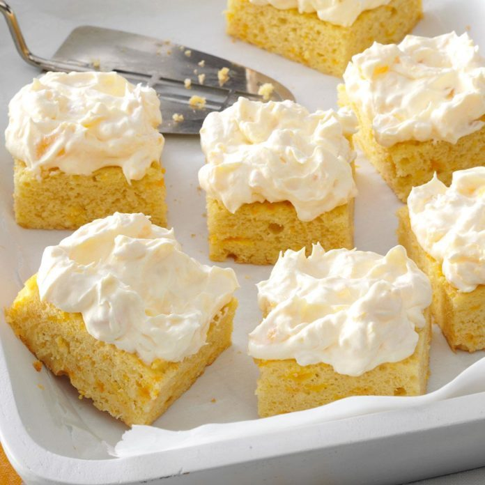 South Carolina: Pineapple Orange Cake